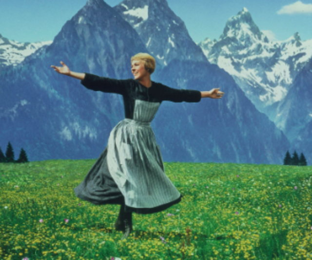 """""""The hills are alive with the sound of music."""""""