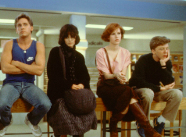 """""""Saturday March 24, 1984. Shermer High School, Shermer, Illinois, 60062. Dear Mr Vernon: We accept the fact that we had to sacrifice a whole Saturday in detention for whatever it was we did wrong."""""""