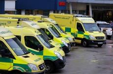 Ambulance trusts get millions to boost staff amid NHS summer crisis