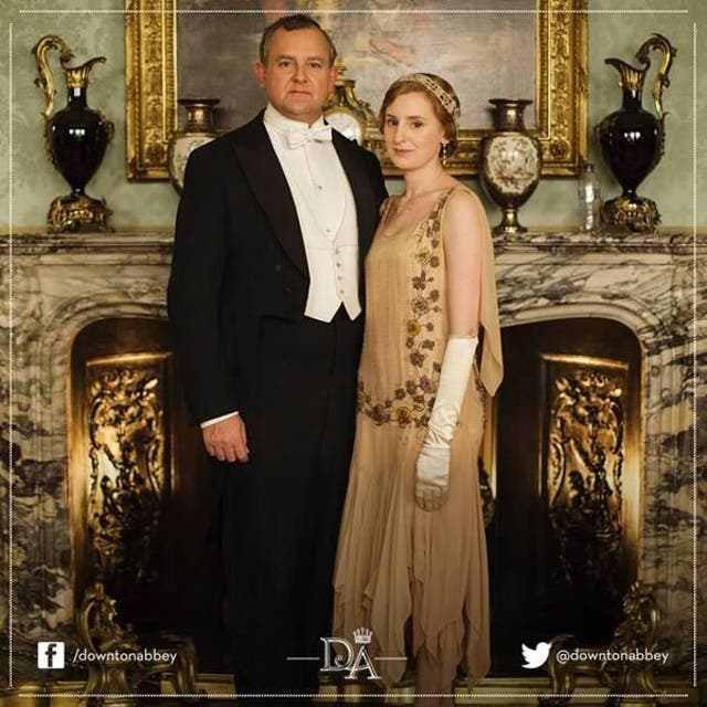 The whopper of a mistake did not happen on screen, but in a promotional shot posted online. It was a surprise to see a plastic water bottle perched on the mantle piece behind the Earl of Grantham and Lady Edith considering the series is set in the 1920s. Other mistakes onscreen include a TV aerial on top of a house and double yellow lines on the road.