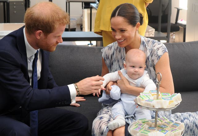 The British royal couple were on a 10-day tour of southern Africa -- their first official visit as a family since their son Archie was born
