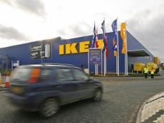Ikea struggling to supply 1,000 product lines to UK due to Brexit and driver shortage
