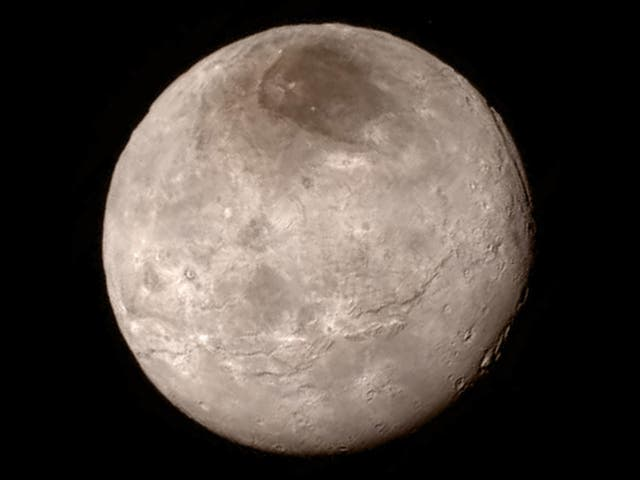 """Pluto has a 'beating heart' of frozen nitrogen that is doing strange things to its surface, Nasa has found.  The mysterious core seems to be the cause of features on its surface that have fascinated scientists since they were spotted by Nasa's New Horizons mission.  """"Before New Horizons, everyone thought Pluto was going to be a netball - completely flat, almost no diversity,"""" said Tanguy Bertrand, an astrophysicist and planetary scientist at NASA's Ames Research Center and the lead author on the new study.  """"But it's completely different. It has a lot of different landscapes and we are trying to understand what's going on there."""""""