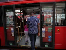 Coronavirus: London bus travel now free and as passengers told to used middle-doors after 26 TfL staff die from virus