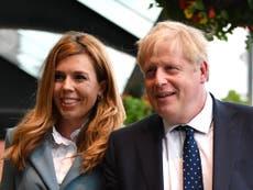 Boris Johnson and Carrie Symonds congratulated on birth of baby boy