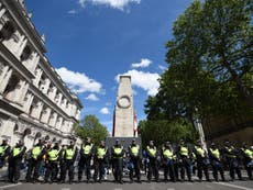 'Multiculturalism was forced on us': After Black Lives Matter protests, the far right march on Westminster