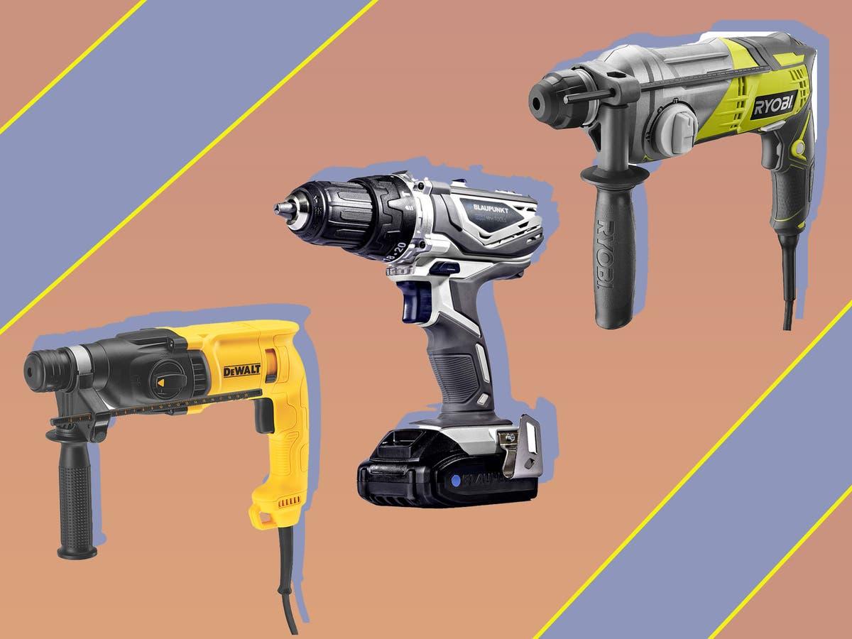 10 best hammer drills that make light work of heavy materials
