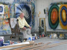 Barrie Cook: Abstract artist who saw painting as 'a way of thinking'