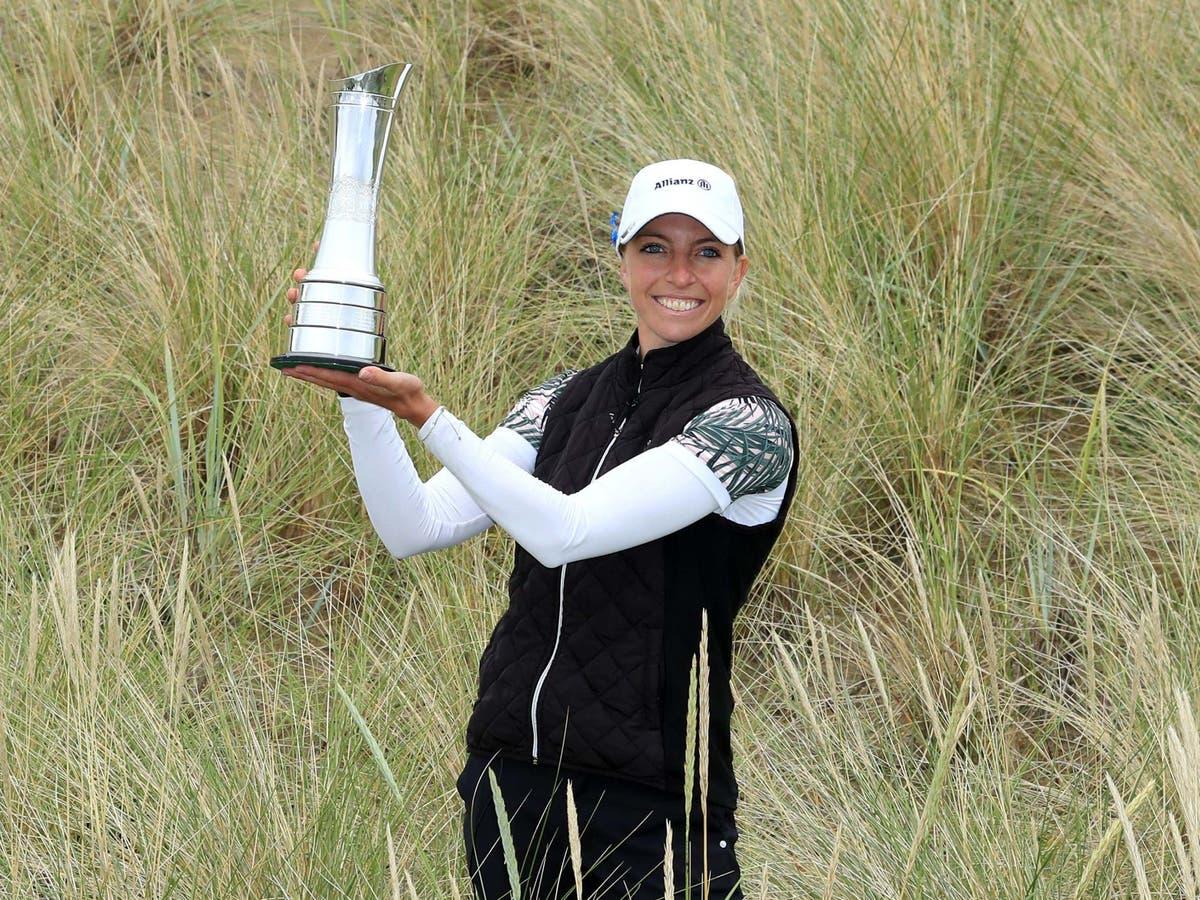 Sophia Popov embracing status as defending champion of AIG Women's Open