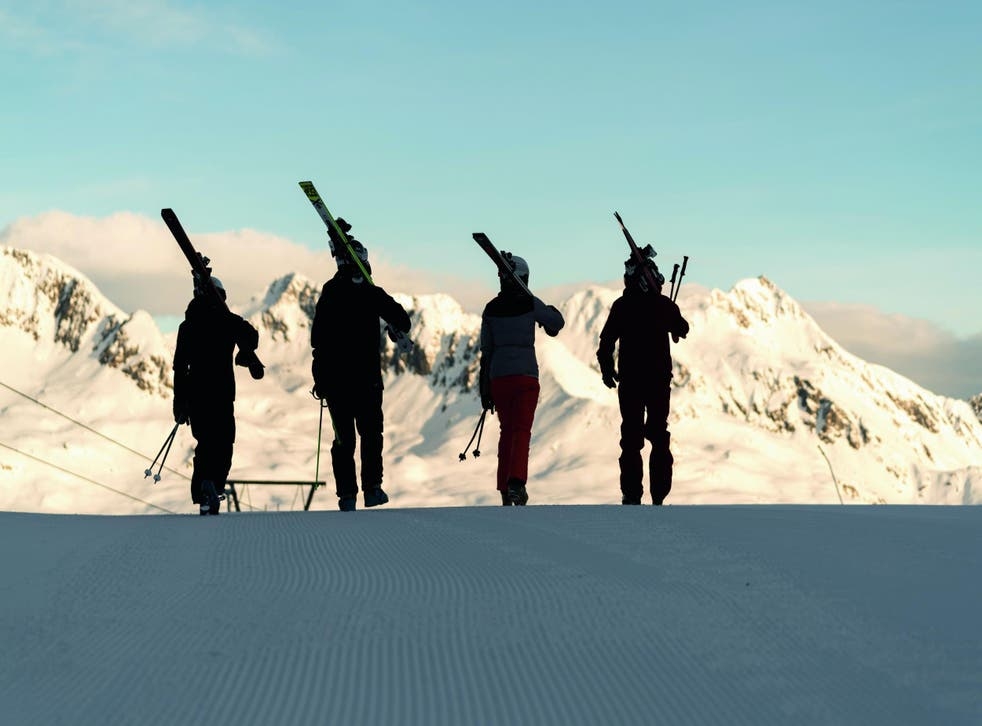 A hit with skiers, the slopes of Obergurgl-Hochgurglare also called theDiamond of the Alps