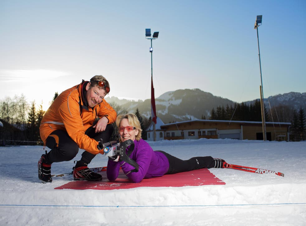 Try a new sport at the Biathlon Centre in Kirchdorf