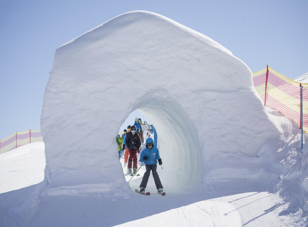 The fun slope at the Wiedersberger Horn in Alpbach is a family-friendly treat