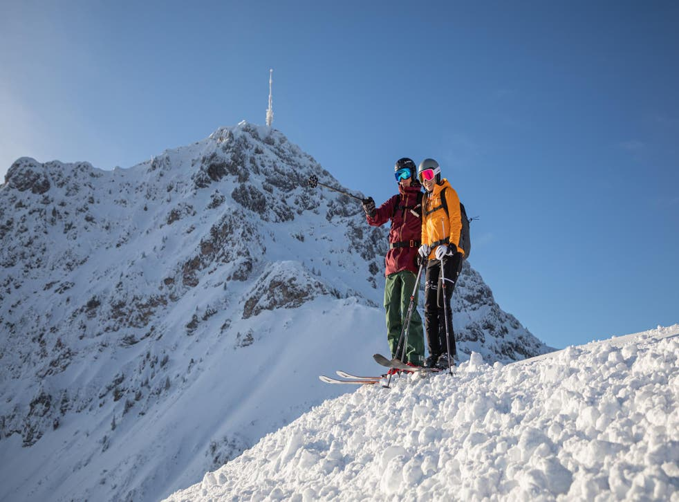 The mighty Kitzbüheler Horn is just one of many skiing destinations in the region