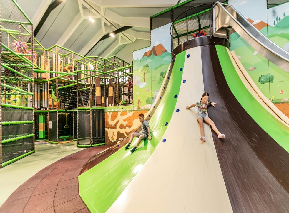 Children aged 10 and under will have a whale of a time Murmi's Kinderland in Kirchdorf