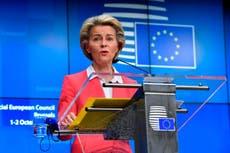 EU president Ursula von der Leyen hopes Italy will beat England in Euro 2020 final