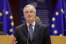 La crise du carburant au Royaume-Uni «conséquence directe» du Brexit, dit Michel Barnier