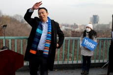 Andrew Yang jeered on Twitter after announcing he's left Democratic Party