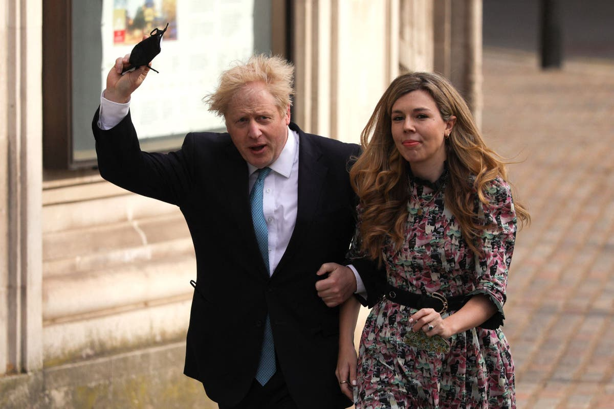 Where are Boris Johnson and Carrie Symonds staying on holiday?