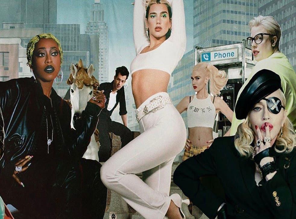 Dua Lipa recluta a Madonna, Missy Elliot y más para su álbum de remixes, Club Future Nostalgia