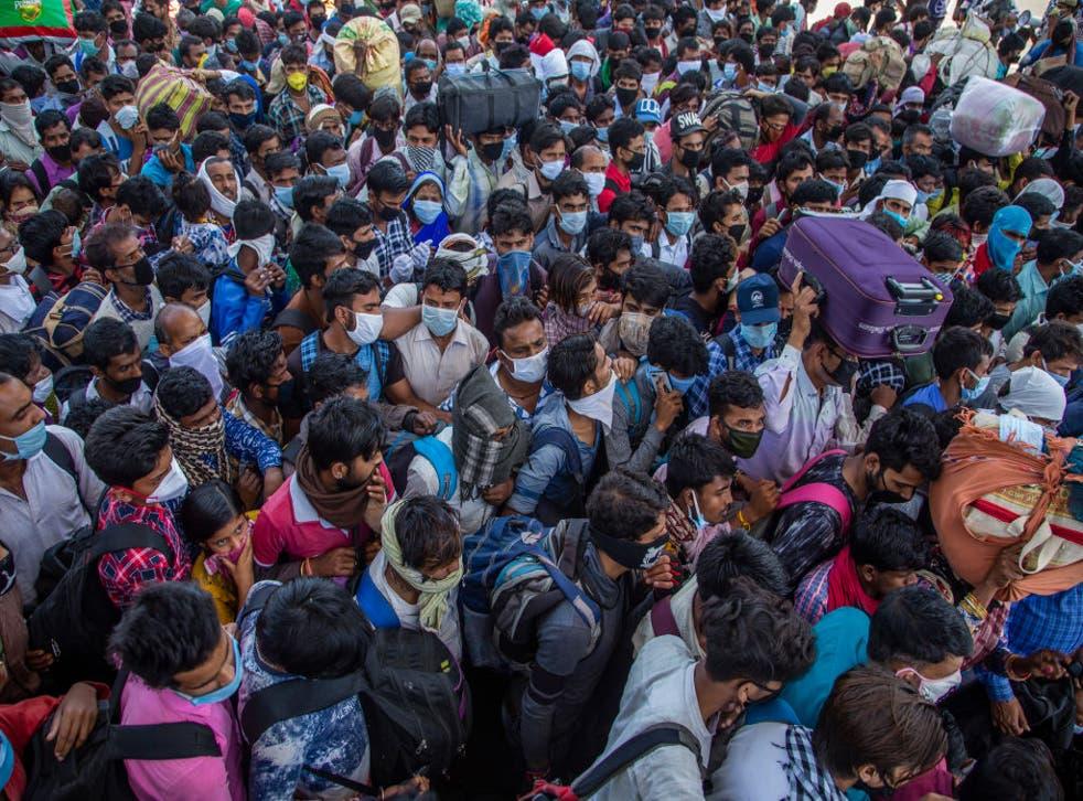 El sistema de salud indio realiza cerca de un millón de pruebas de Covid diarias ante el incremento en los casos diarios