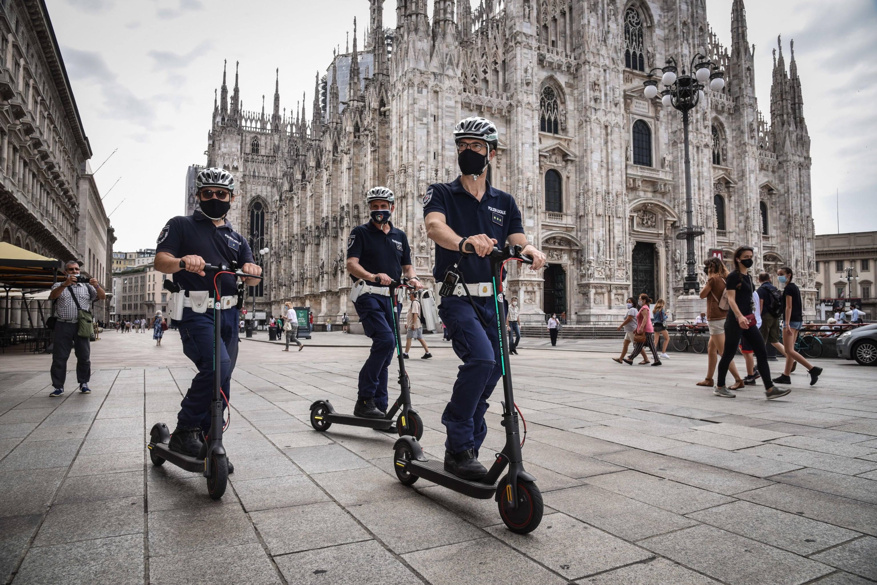 Everyone Is Looking To Us How Coronavirus Transformed Milan The Independent
