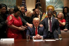 Trump met with Evangelical leaders and then said 'Can you believe that bulls**t?', claims Michael Cohen in new book