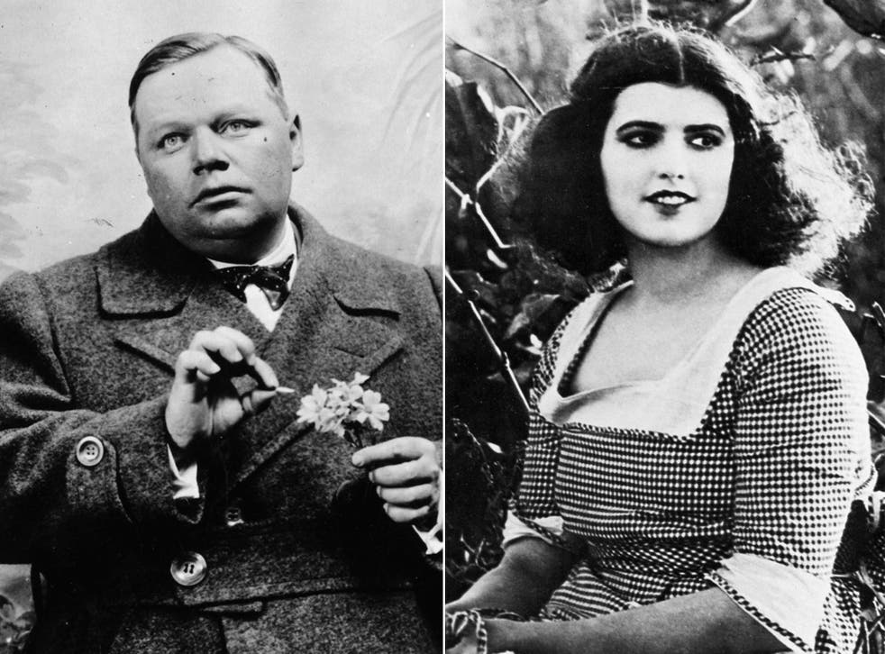Roscoe Arbuckle and Virginia Rappe in the 1920s