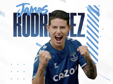 Everton complete signing of James Rodriguez from Real Madrid