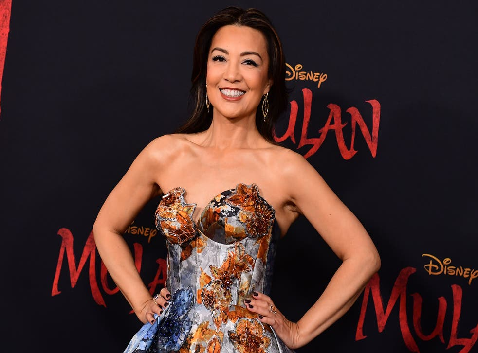 Ming-Na Wen attends the world premiere of 'Mulan' on 9 March 2020 in Hollywood