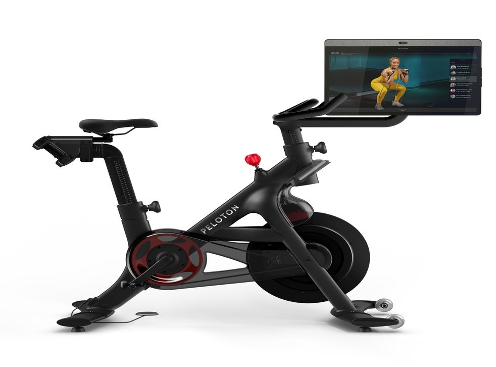 Peloton Bike Online Fitness Company Launches Update To Its At Home Spin Bike The Independent
