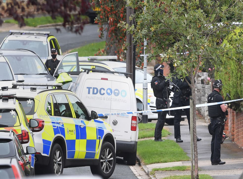 Armed police arrested a boy  in Westwood Avenue, Ipswich, two hours after the attack