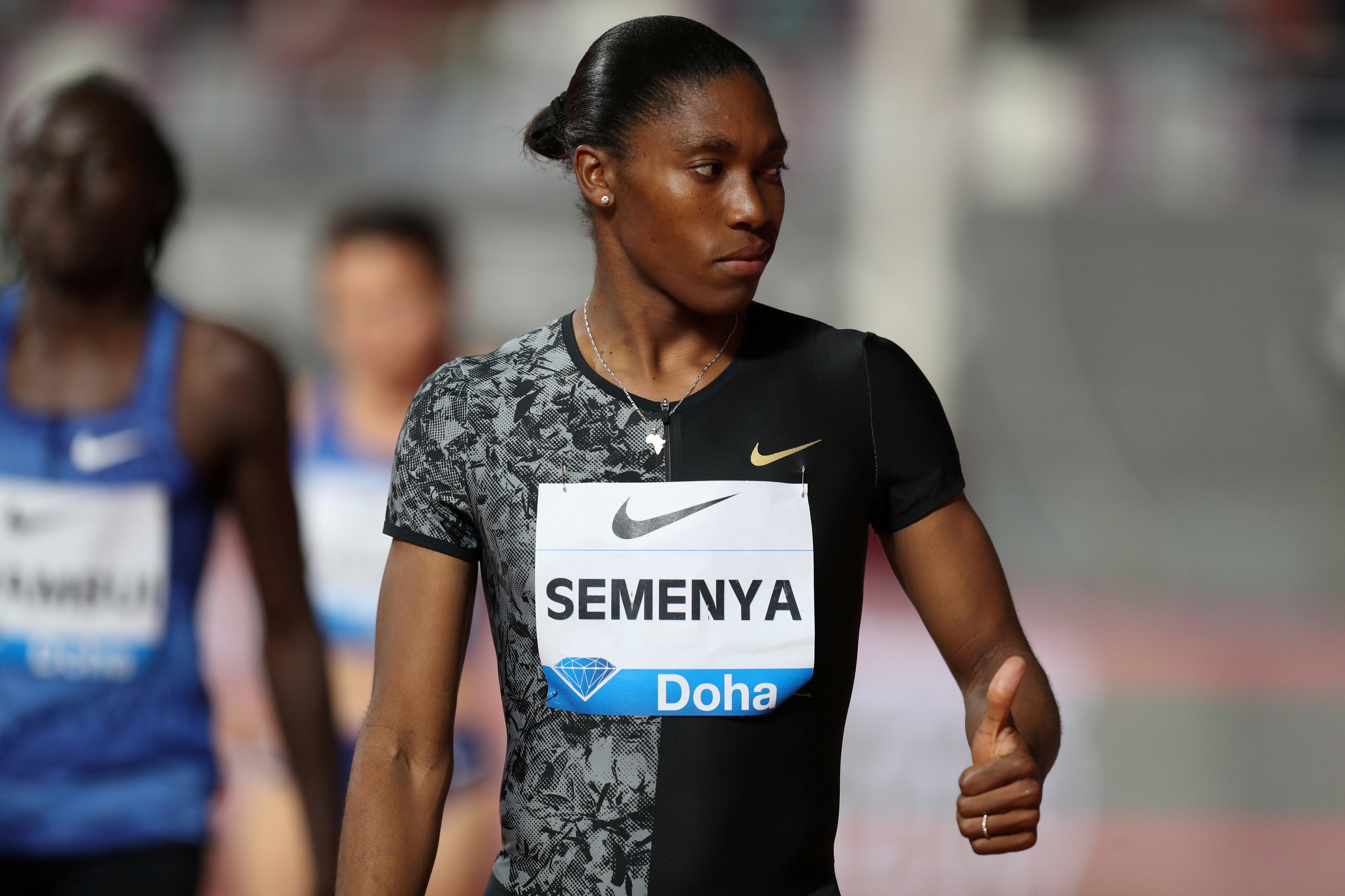 Caster Semenya Hoden