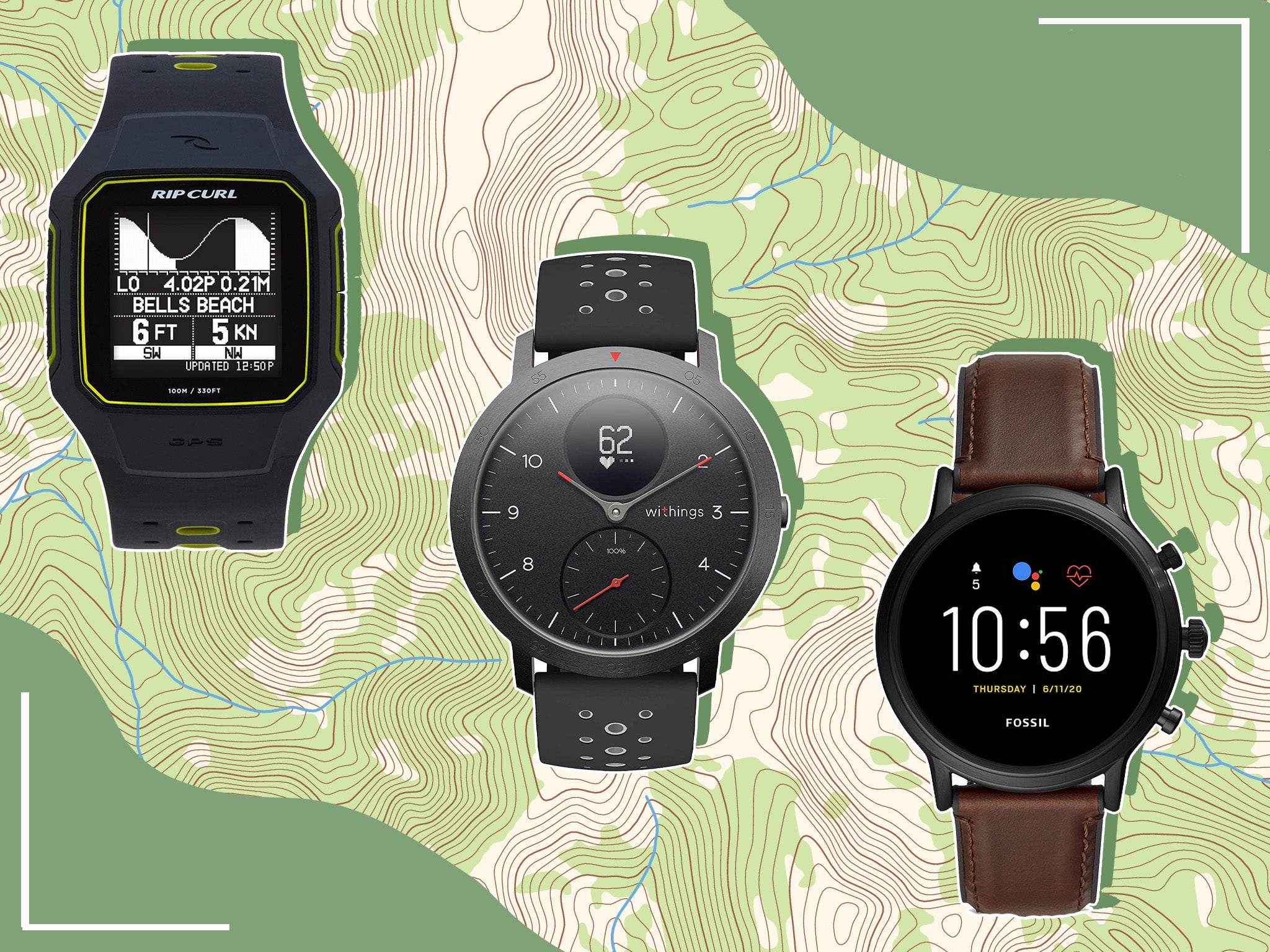 Best smart watch 2020 for outdoor adventures, from hiking to