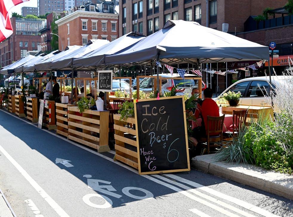 Los mejores restaurantes al aire libre en Nueva York.
