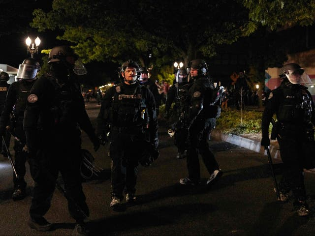 There has been a sea of Black Lives Matter-related violence in Portland this summer, a lot of which has highlighted policy brutality