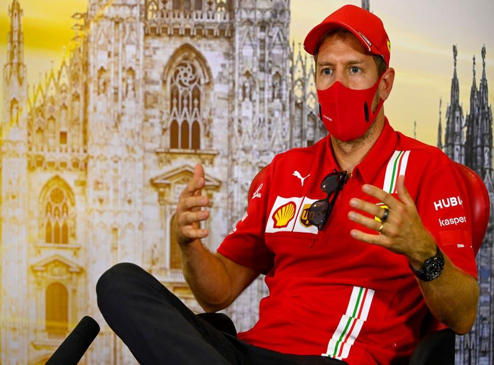 Sebastian Vettel fue anunciado como nuevo piloto de Racing Point para el próximo año.