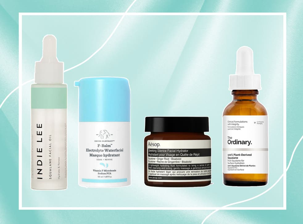 Squalane helps your skin to regulate oil production