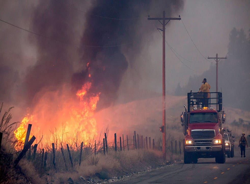 Hombre es arrestado en el estado de Washington por incendios forestales