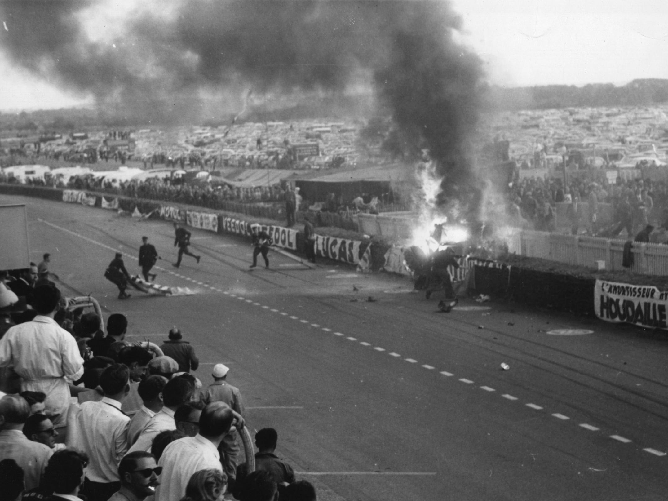 How a horrific crash at Le Mans changed motorsport forever