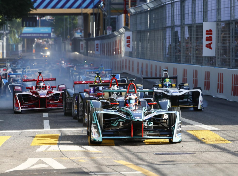 The Zurich E-Prix in 2018, the first race in Switzerland for 63 years