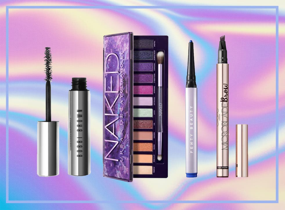 Eye make-up products, such as mascara and eye shadow, have seen a surge in popularity