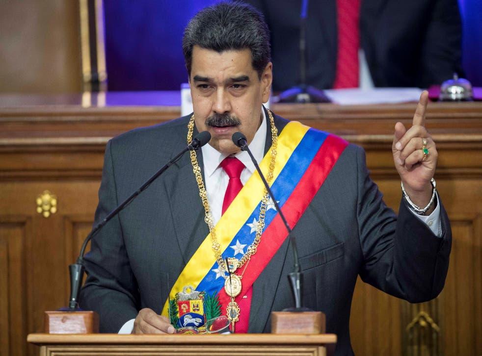 El presidente de Venezuela, Nicolás Maduro, dice que un espía estadounidense es capturado en Venezuela