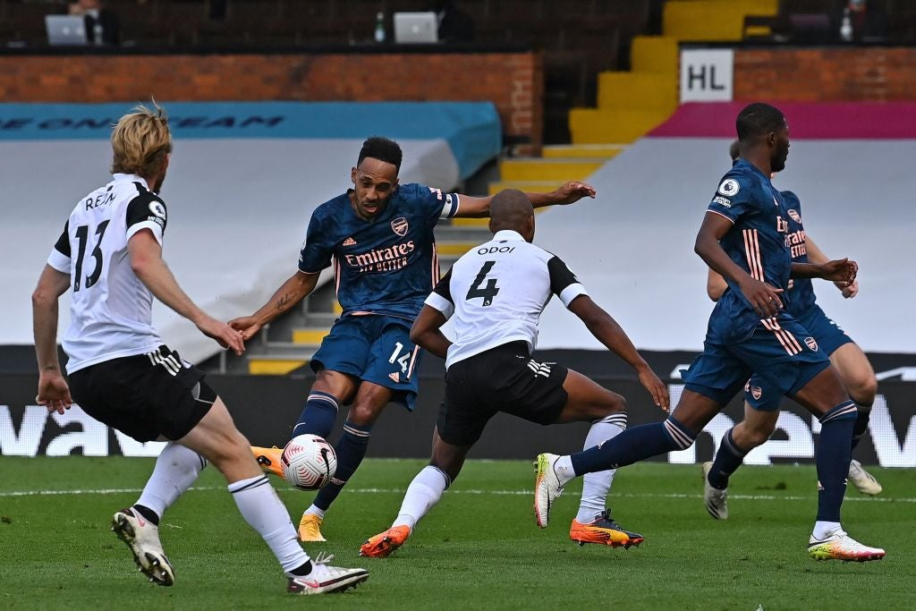 Fulham vs Arsenal result: Pierre-Emerick Aubameyang inspires red-hot  Gunners to victory - 5 things we learned | The Independent