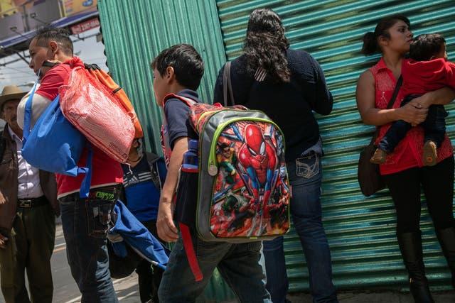 Alrededor de 2,200 infantes han sido expulsados del país sin la compañía de un adulto
