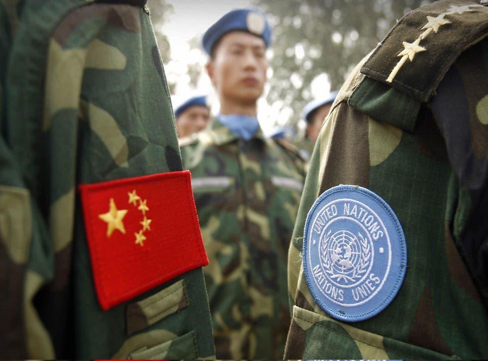 """El ejército chino señala a EE.UU. como el principal """"destructor de la paz mundial""""."""
