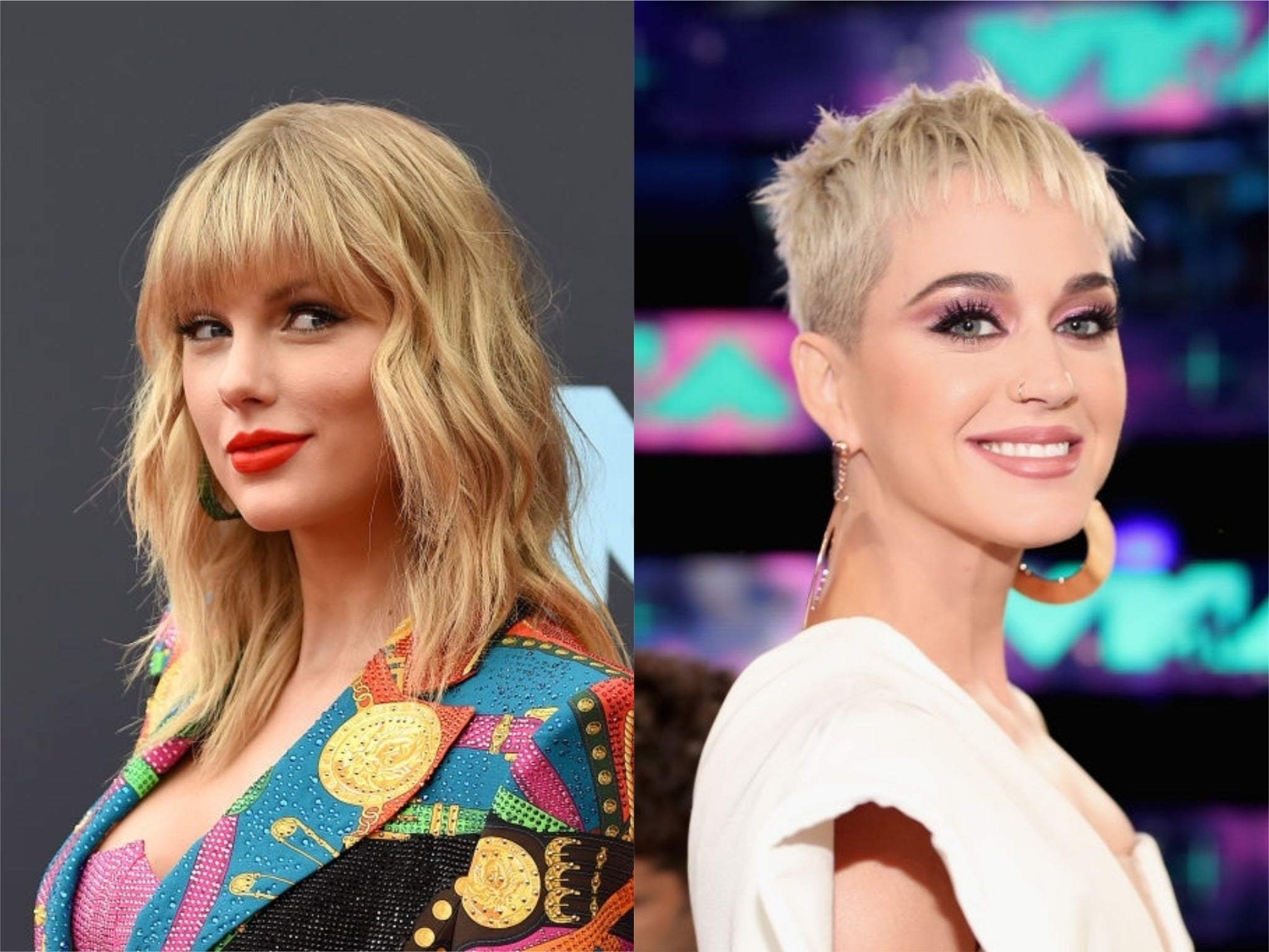 Taylor Swift Sends Katy Perry Hand Embroidered Blanket For Baby Daughter The Independent