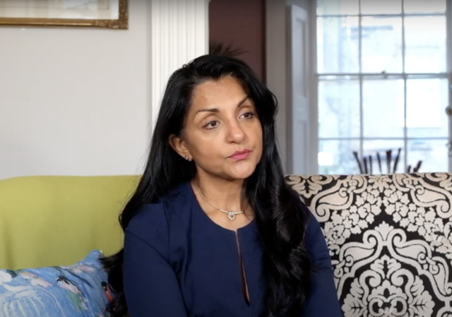 Geeta Sidhu Robb was captured making antisemitic remarks to voters with megaphone
