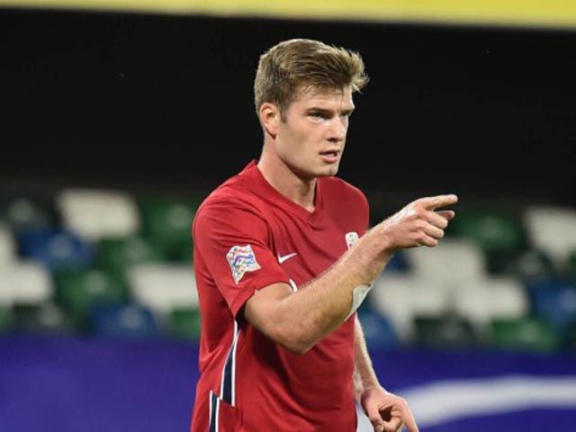 Norway striker Alexander Sorloth