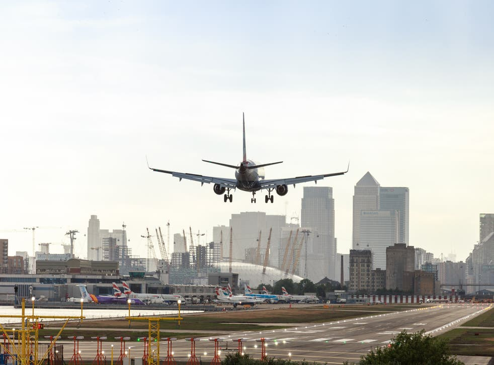 London City Airport is set to cut 35% of jobs