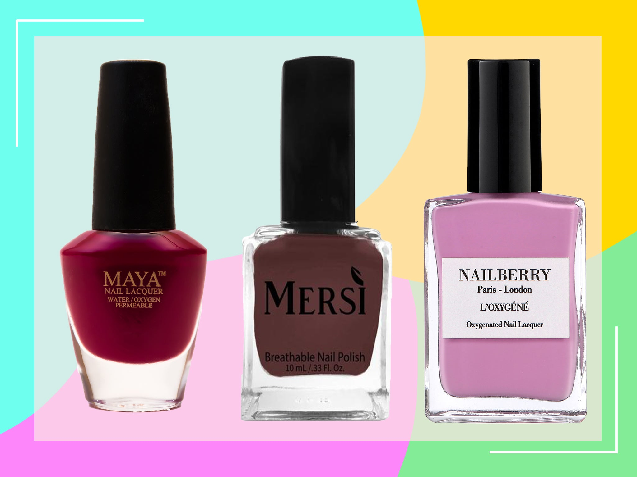 Best Halal Nail Polish Breathable Formulas That Deliver On Shine And Colour The Independent